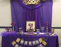 "Royal Queen / Birthday ""Queen Shay-Purple & Gold ..."