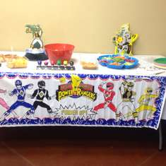 power rangers party ideas for a girl