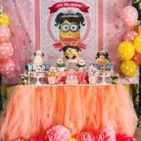 Despicable Me Party Ideas for a Girl Birthday | Catch My Party