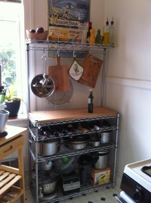 kitchen bakers rack commercial equipment dallas baker racks - intermetro baker's | the container store