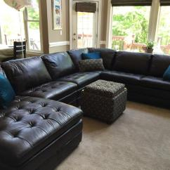 Havertys Furniture Leather Sofas L Shaped Sofa Designs In Stan Sectional Sectionals ...