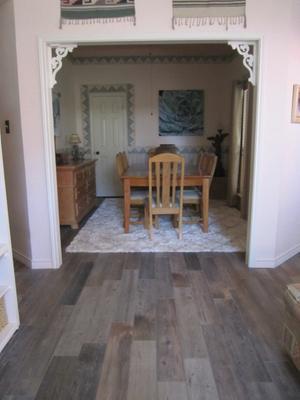style selections 6 in x 36 in kaden reclaimed glazed porcelain indoor outdoor floor tile
