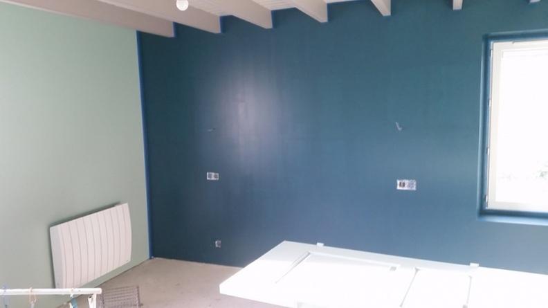 Peinture Bleu Ptrole Velours DULUX VALENTINE Architecte 2