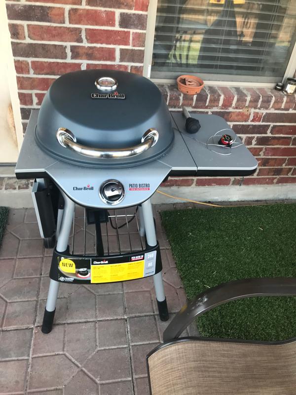 char broil electric patio bistro grill 1750 w 320 sq in black