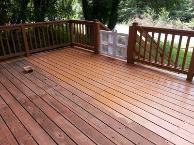 Behr Solid Color Waterproofing Wood Stain
