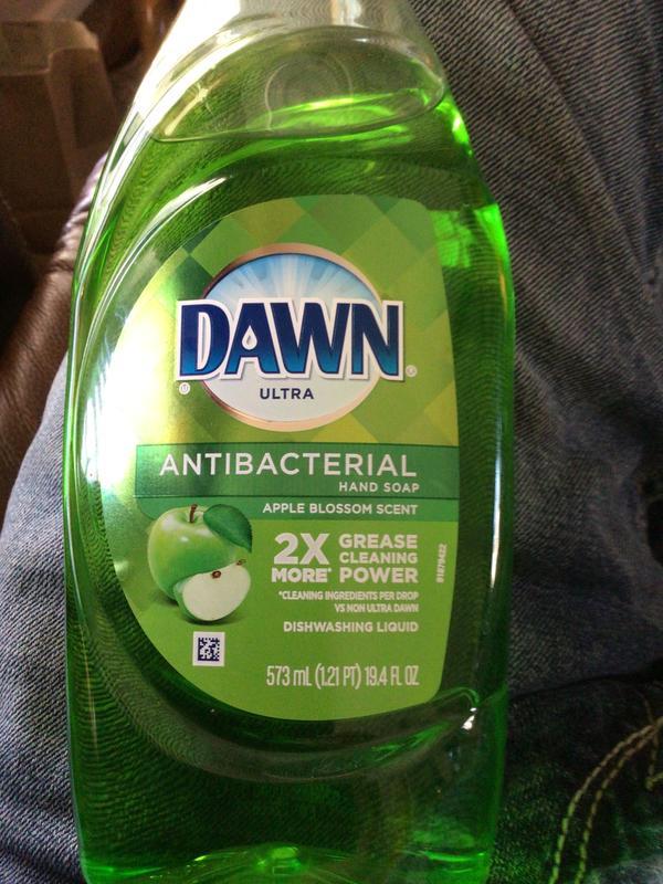 Dawn Dish Soap Label : label, Meyer, Ultra, Antibacterial, Dishwashing, Liquid, Apple, Blossom, Scent,