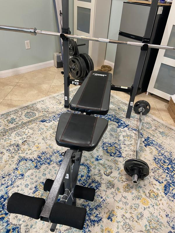 Fitness Gear Bench : fitness, bench, Benches, Fitness, Standard, Bench, Press, Workout, Sporting, Goods