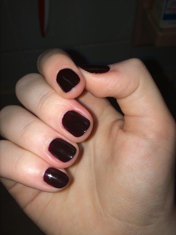 Blood Red Nailpolish : blood, nailpolish, Wicked, Creamy, Polish, Color, Essie