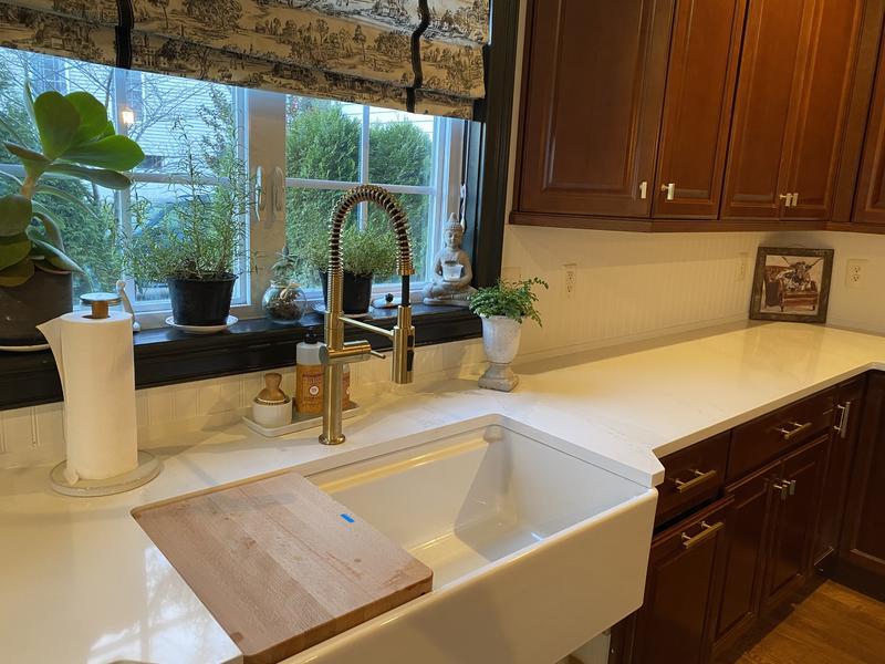 crue single handle semi professional kitchen sink faucet
