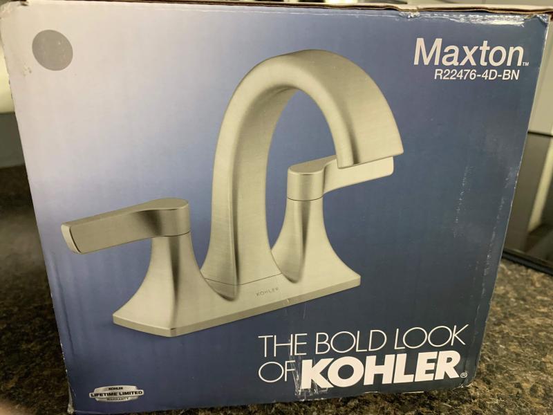 maxton centerset bathroom sink faucet