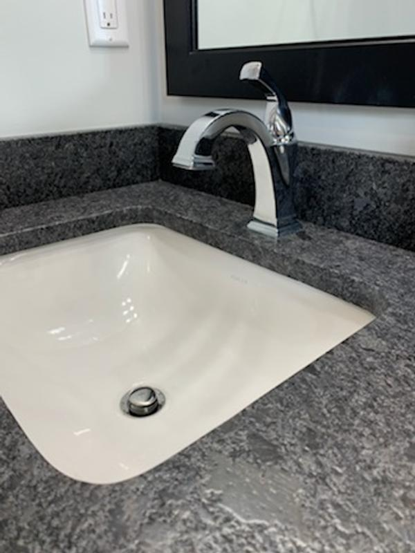 caxton rectangle undermount bathroom sink
