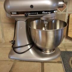 Kitchen Aid Classic Plus Rta Cabinets Silver Series 4 5 Quart Tilt Head Stand Mixer Ksm75sl Review Photo 1