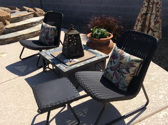 keter rio 3 piece patio set lounge