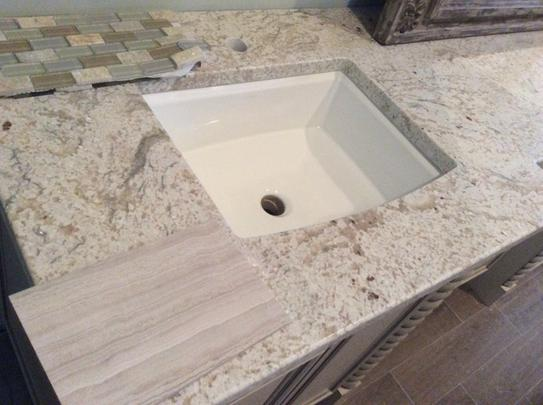 archer vitreous china undermount bathroom sink with overflow drain in cashmere with overflow drain