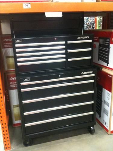 Husky 41 In 13 Drawer Tool Chest And Rolling Tool Cabinet
