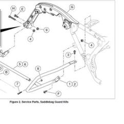 1989 Sportster 1200 Wiring Diagram Explain Computer Organization With The Help Of A Chrome Rear Saddlebag Guards 90200787 Harley Davidson Usa P N