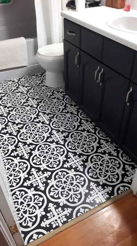 wallpops gothic peel and stick floor