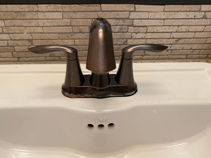 moen eva two handle centerset bathroom