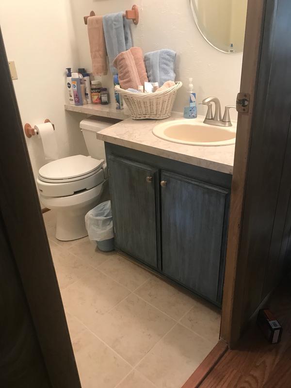 graeden spot resist brushed nickel two handle bathroom faucet