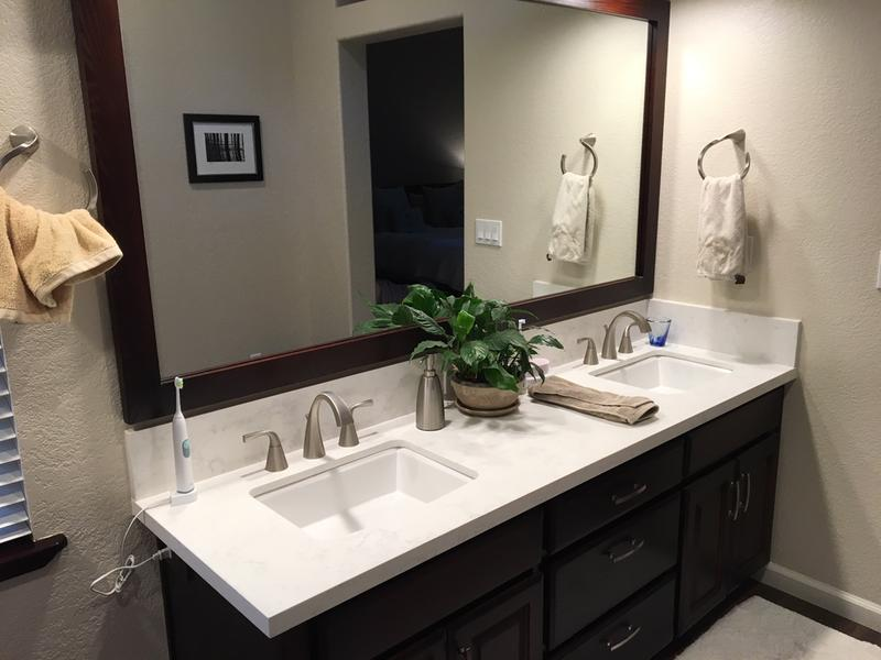oxby spot resist brushed nickel posi temp tub shower