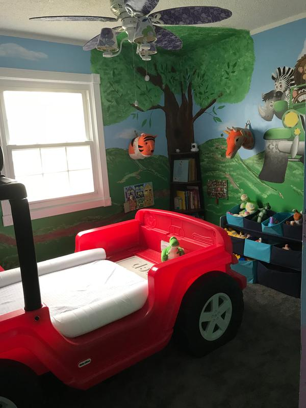 Jeep Car Bed : Wrangler, Toddler, Little, Tikes