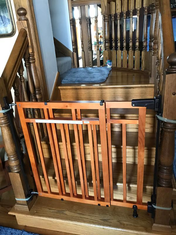 Babies R Us Secure Stairway Gate Parts : babies, secure, stairway, parts, Summer, Infant, Banister, Stair,, Stairs, Installation