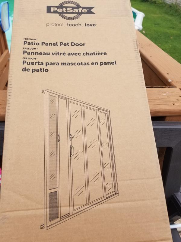 freedom aluminum patio panel up to 96