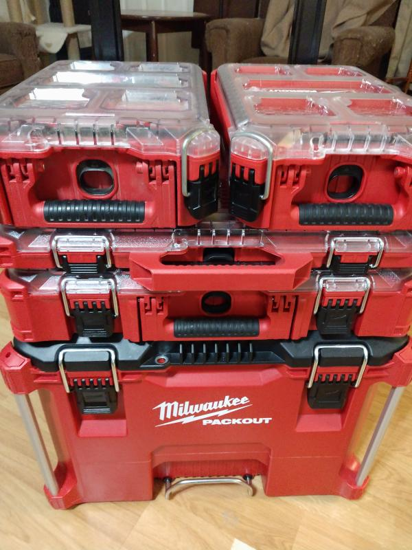Rural King Truck Tool Boxes : rural, truck, boxes, Milwaukee, Packout, Rolling, 48228426
