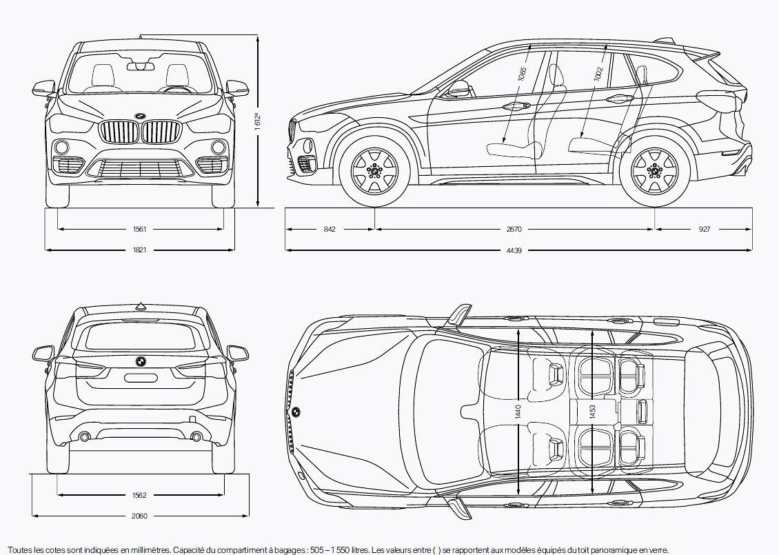 Essai BMW X1 F48 anne 2015 : Moins prestigieux mais plus