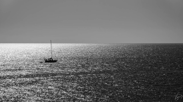 Gran Canaria - Boat on the sea