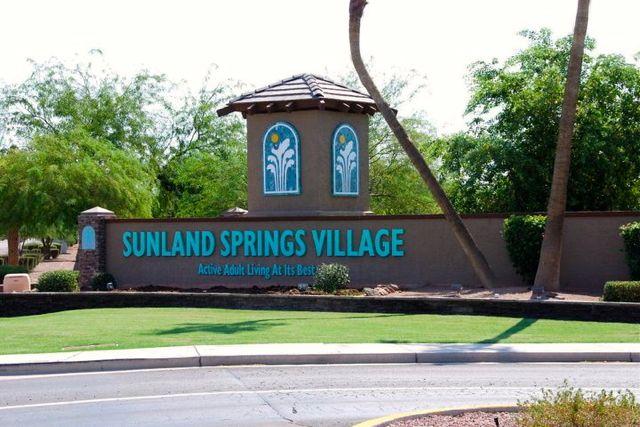 Sunland Springs Village  Mesa AZ  55placescom