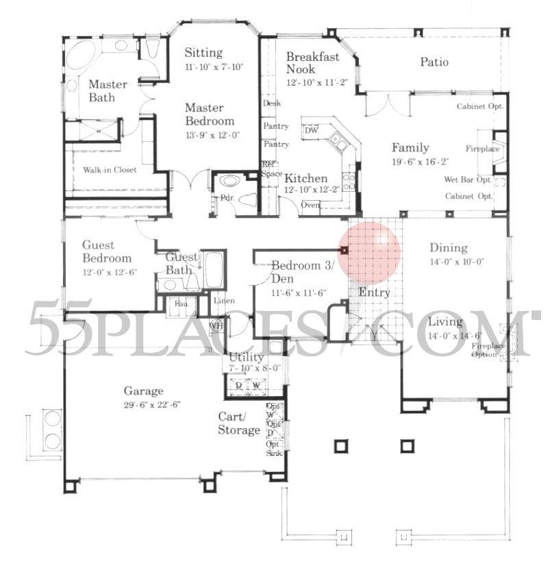 Sun City Floor Plans Palm Desert  Escortsea