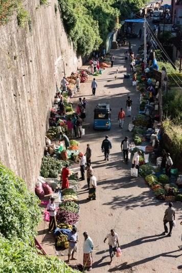 Markt an der Stadtmauer