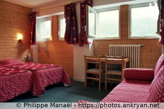 Chambre dhtel Puy Ferrand MontDore Auvergne au pays des volcans  Ankryan Photos