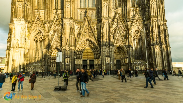 Cologne Cathedral's entrance
