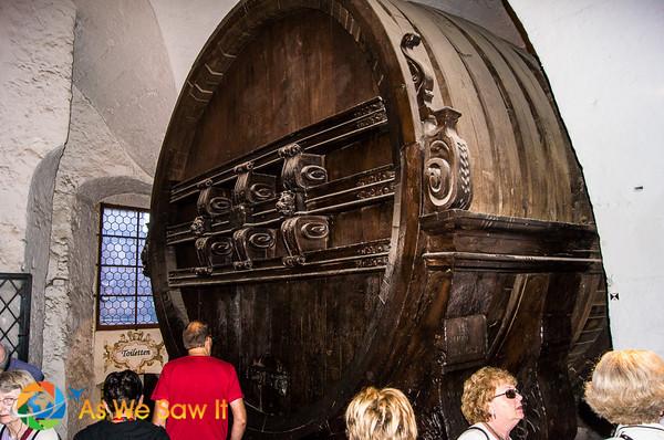big barrel in Heidelberg castle