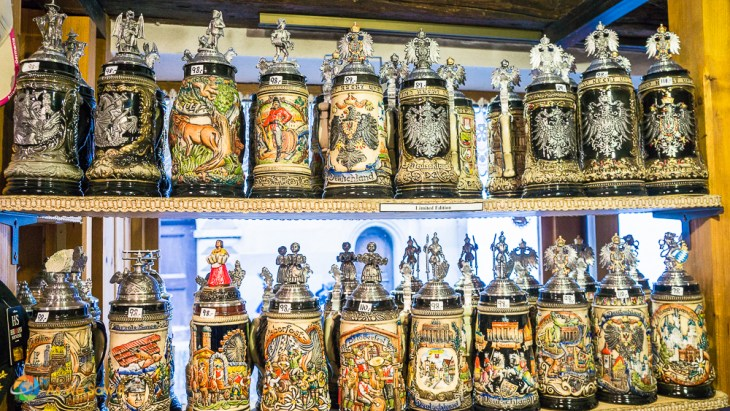 What is Germany without beer steins? These are perfect.