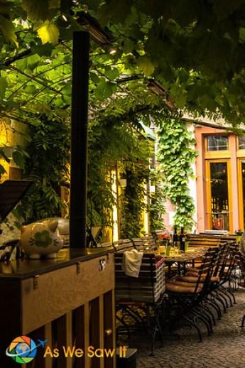 Rudesheim restaurant