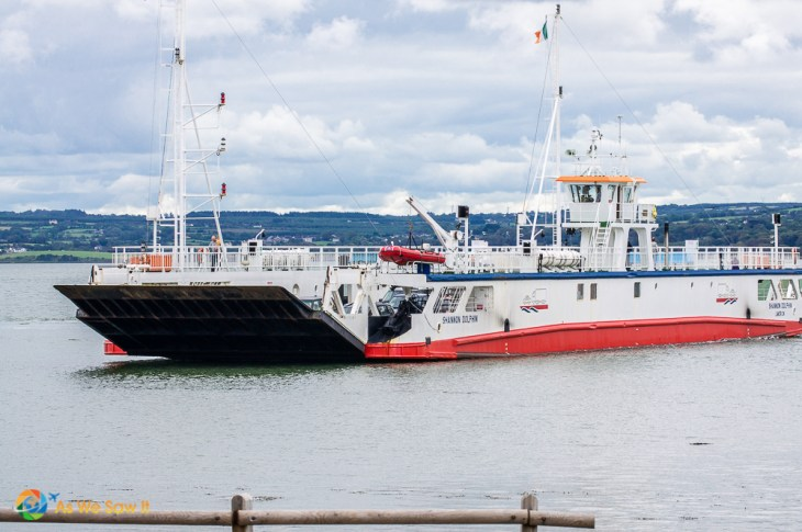 Take a ferry to cross the Shannon River