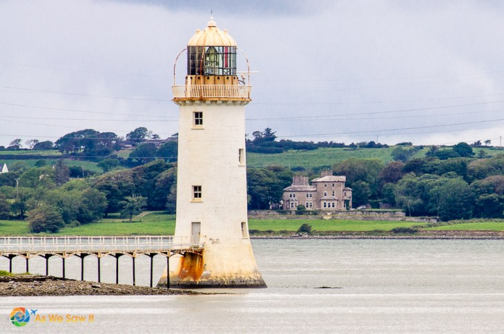 Lighthouse on the Shannon River