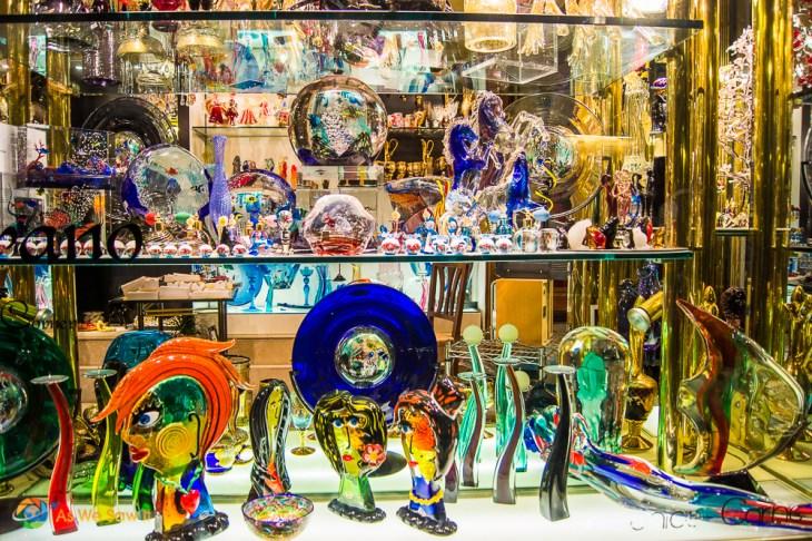 Venetian glass, Venice, Italy