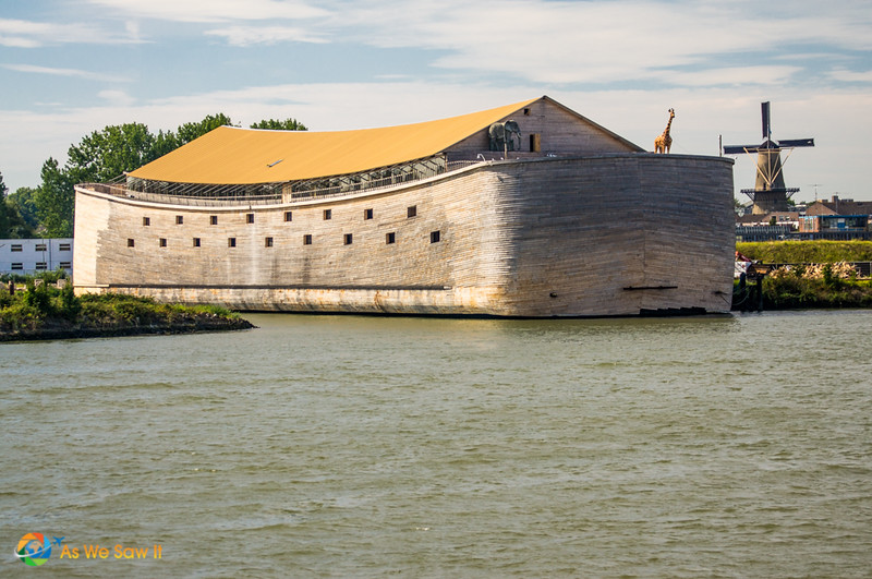 Noah's ark, as seen from a Rhine River cruise ship