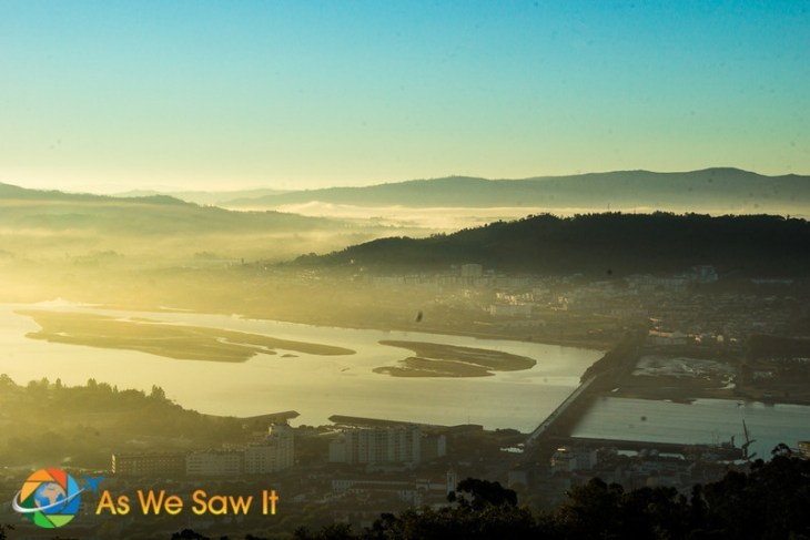 Sunrise at Viana do Castelo