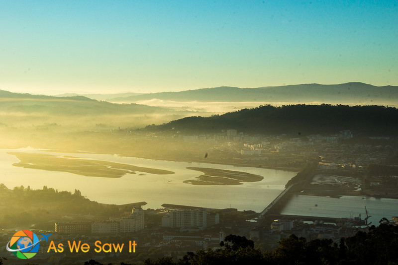 Sunrise at Viana do Castelo