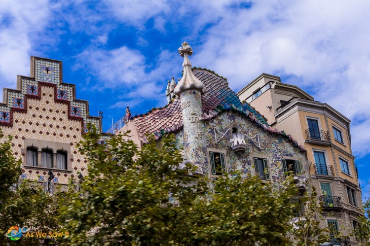 Casa Batlló by Gaudi