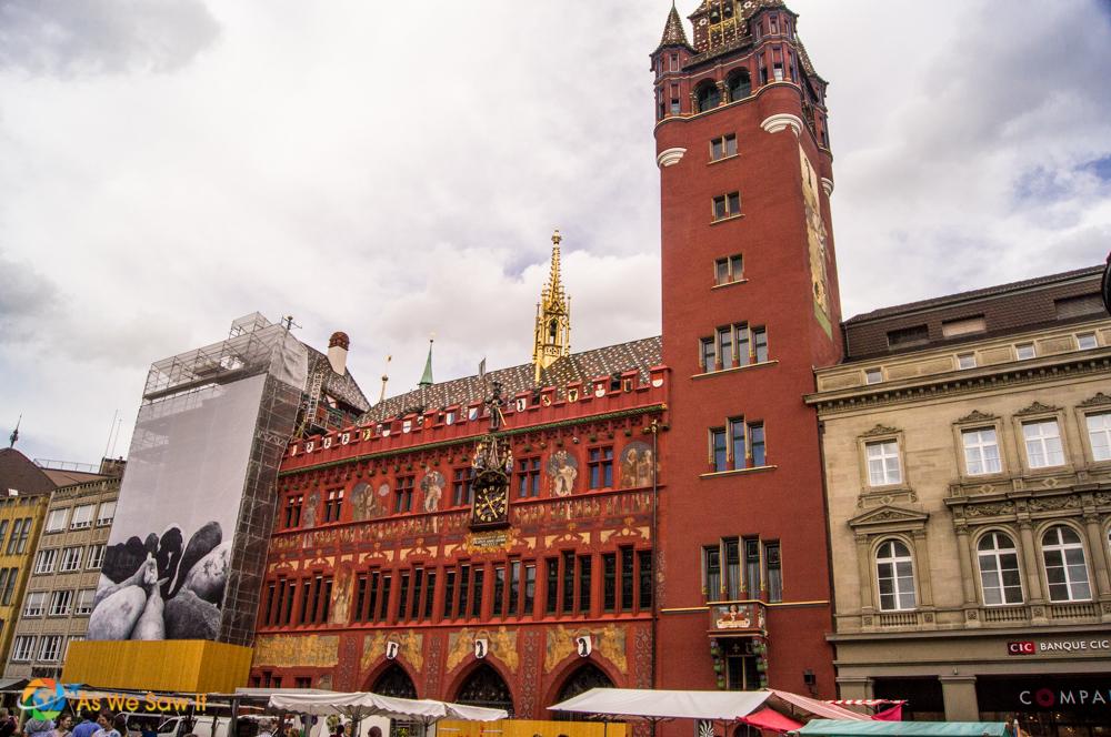 Basel City Hall, Marktplatz