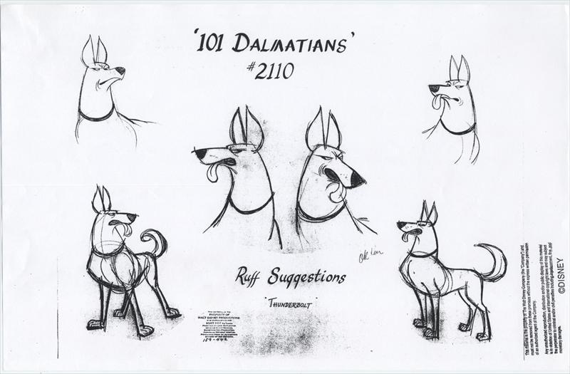 auction.howardlowery.com: 57 Disney 101 DALMATIANS