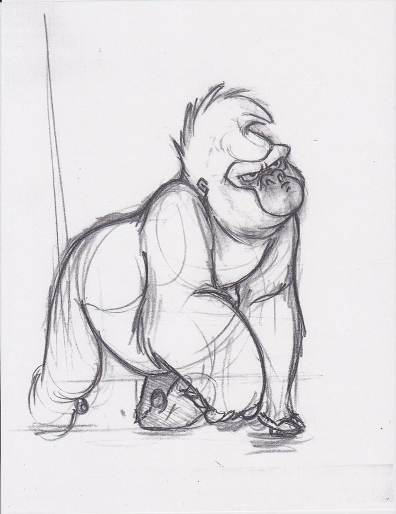 auction.howardlowery.com: Disney TARZAN circa 130