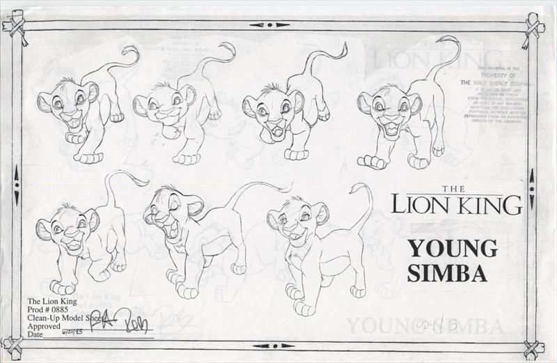 auction.howardlowery.com: Disney THE LION KING