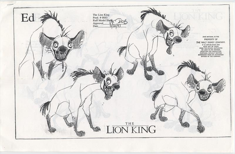 auction.howardlowery.com: Disney THE LION KING